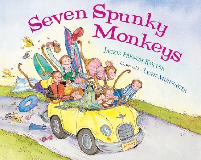 Seven Spunky Monkeys Cover