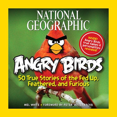 National Geographic Angry Birds Cover
