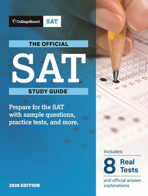 Official SAT Study Guide 2020 Edition Cover Image