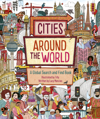 Cities Around the World: A Global Search and Find Book Cover Image