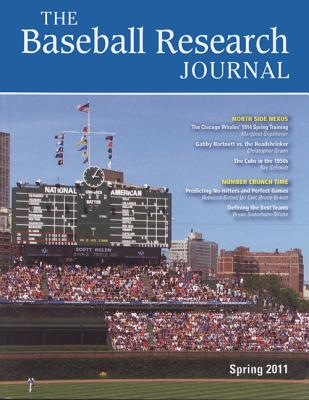 Baseball Research Journal (BRJ), Volume 40 #1 Cover Image