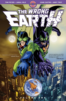 Cover for The Wrong Earth, 1