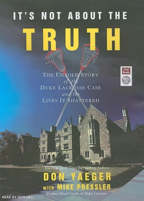 It's Not about the Truth Cover