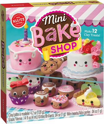 Mini Bake Shop [With 48 Page Book and Air-Dry Clay] Cover Image