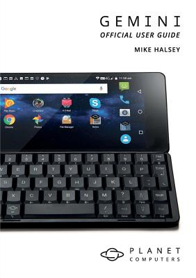 Gemini PDA Official User Guide Cover Image