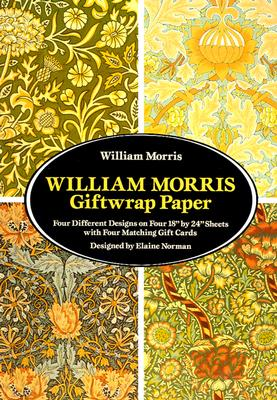 William Morris Giftwrap Paper (Giftwrap--4 Sheets) Cover Image