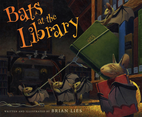 Bats at the Library (A Bat Book) Cover Image