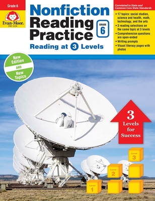 Nonfiction Reading Practice, Grade 6 Cover Image