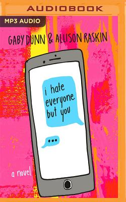 Cover for I Hate Everyone But You