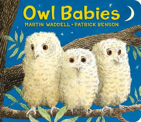 Owl Babies Lap-Size Board Book Cover Image