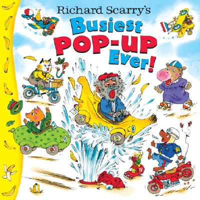 Richard Scarry's Busiest Pop-Up Ever! Cover