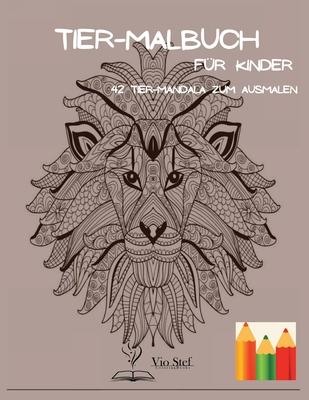 Tier-Malbuch für Kinder Cover Image