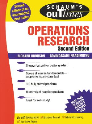 Schaum's Outline of Operations Research (Schaum's Outlines) Cover Image