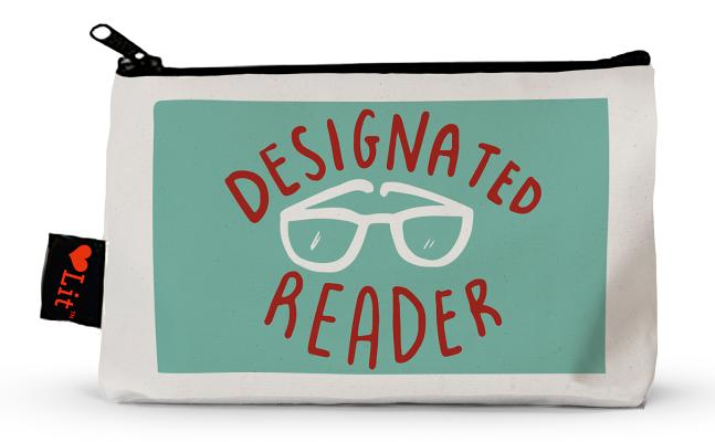 Designated Reader Pencil Pouch Cover Image