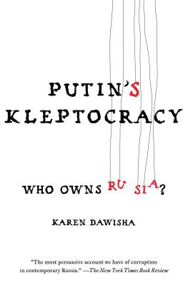 Putin's Kleptocracy: Who Owns Russia? Cover Image