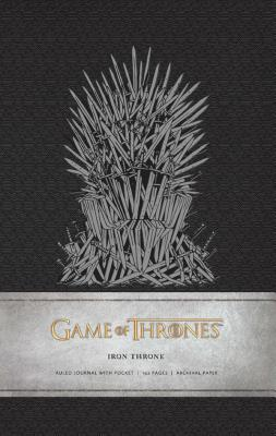Game of Thrones: Iron Throne Hardcover Ruled Journal Cover Image