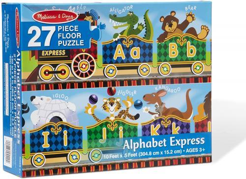 Alphabet Express Floor Puzzle (27 Pc) Cover Image