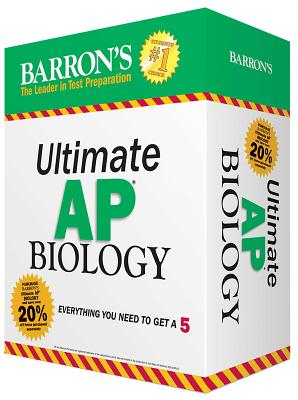 Ultimate AP Biology: Everything you need to get a 5 (Barron's AP) Cover Image