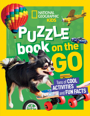 National Geographic Kids Puzzle Book: On the Go Cover Image