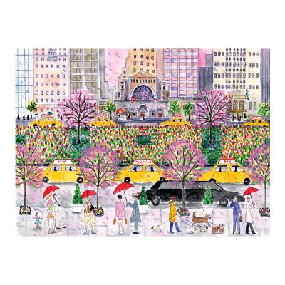 Michael Storrings Spring on Park Avenue 1000 Piece Puzzle Cover Image