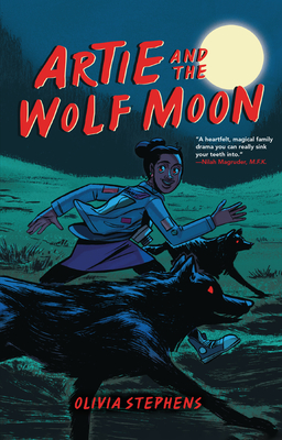 Cover for Artie and the Wolf Moon