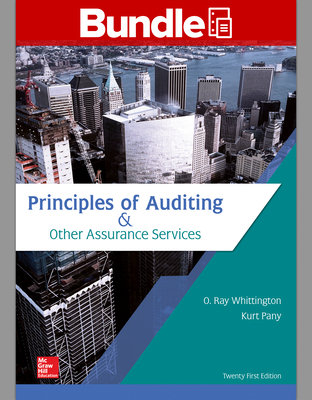 Gen Combo LL Principles of Auditing & Other Assurance Services; Connect Access Card Cover Image