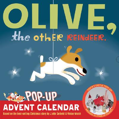 Olive, the Other Reindeer Pop-Up Advent Calendar Cover Image