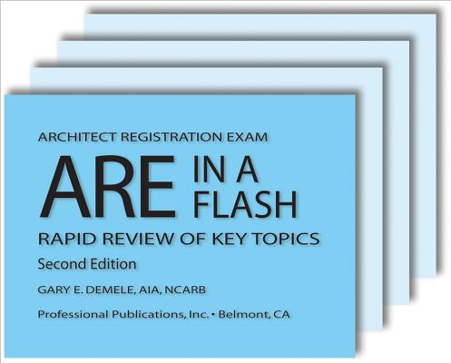 ARE in a Flash: Rapid Review of Key Topics Cover Image