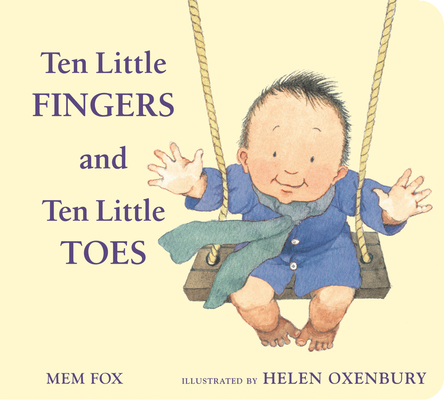 Ten Little Fingers and Ten Little Toes padded board book Cover Image