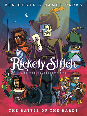 Cover for Rickety Stitch and the Gelatinous Goo Book 3