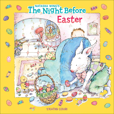The Night Before Easter (All Aboard Books (Pb)) Cover Image