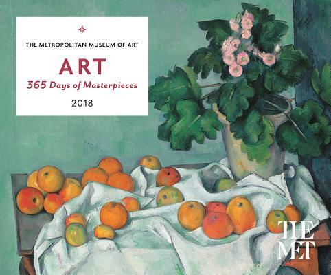 ART: 365 Days of Masterpieces 2018 Desk Calendar Cover Image