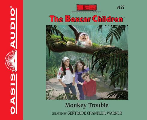 Cover for Monkey Trouble (The Boxcar Children Mysteries #127)