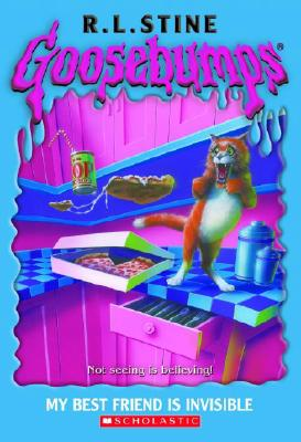 Goosebumps #57: My Best Friend Is Invisible Cover Image