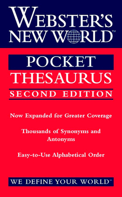 Webster's New World Pocket Thesaurus, Second Edition Cover Image