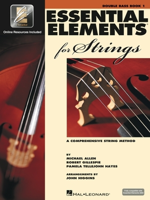 Essential Elements 2000 for Strings: Double Bass, Book 1 [With CD (Audio)] Cover Image