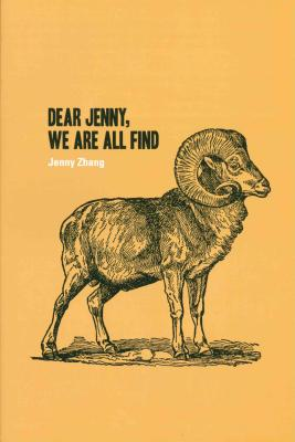 Cover for Dear Jenny, We Are All Find