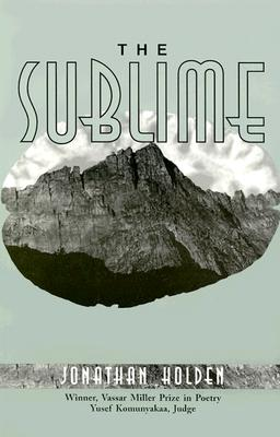 Cover for The  Sublime (Vassar Miller Prize in Poetry #3)