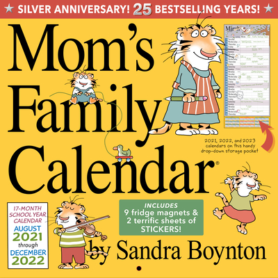 Mom's Family Wall Calendar 2022 Cover Image