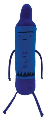 Day the Crayons Quit Blue 12 P Cover Image
