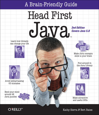 Head First Java Cover Image