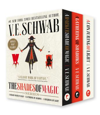 Shades of Magic Boxed Set: A Darker Shade of Magic, A Gathering of Shadows, A Conjuring of Light Cover Image