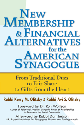 Cover for New Membership & Financial Alternatives for the American Synagogue