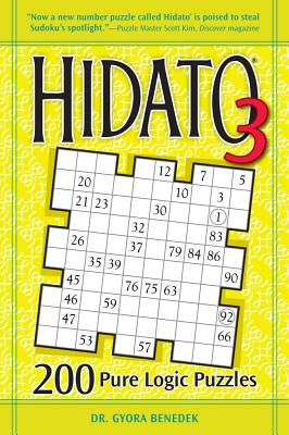Hidato 3: 200 Pure Logic Puzzles Cover Image
