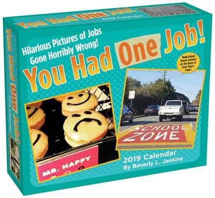 You Had One Job 2019 Day-to-Day Calendar Cover Image