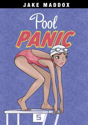 Pool Panic (Jake Maddox Girl Sports Stories) Cover Image
