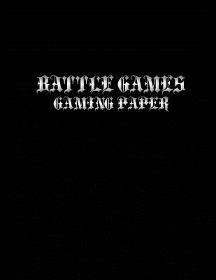 Battle Games Gaming Paper: Small Hexagons Light Grey Grid .4 Inch (1 cm) Diameter .2 Inch (.5 cm) Per Side: Hex Grid A4 Size 8.5