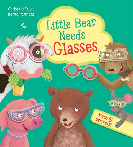 Little Bear Needs Glasses Cover Image