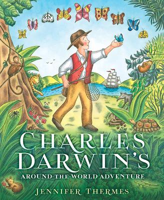 Charles Darwin's Around-the-World Adventure Cover Image