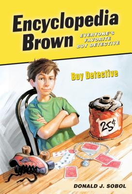 Boy Detective (Encyclopedia Brown #1) Cover Image